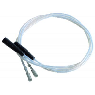 Câble haute tension spécifique silicone 270  (X 2) - DIFF pour Cuenod : 13015608