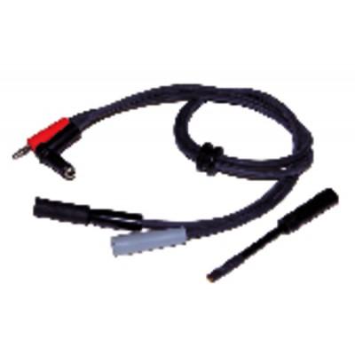 Spezifisches Hochspannungskabel VIESSMANN PVC (2 Stück) - DIFF für Weishaupt: 2303110003/0