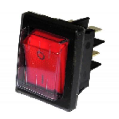 Interruttore per ZH rosso tenuta stagna - ZAEGEL HELD : A814398