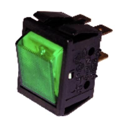 Interruttore per ZH verde tenuta stagna - ZAEGEL HELD : A814342