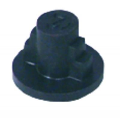 Details der direkten Kupplungen - Nasenträger - Kupplungsherz Länge 16 - ABIG-WARMETECHNIK: 200037