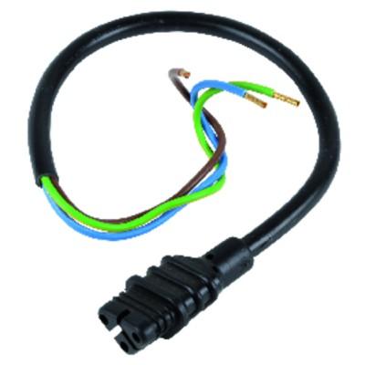 Ignition transformer connector - BALTUR : 0005130111