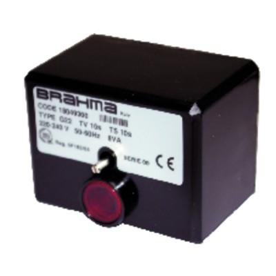 Control box brahma g22/09 only - BRAHMA : 18049300