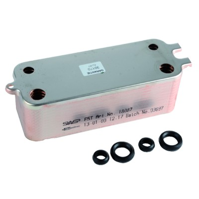 Plate exchanger - DIFF for Junkers : 87167710390