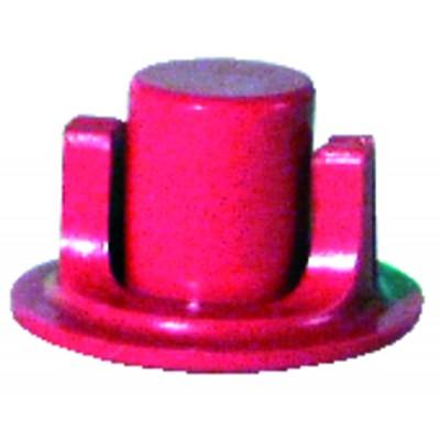 Accouplement longueur 14 rouge (X 6)