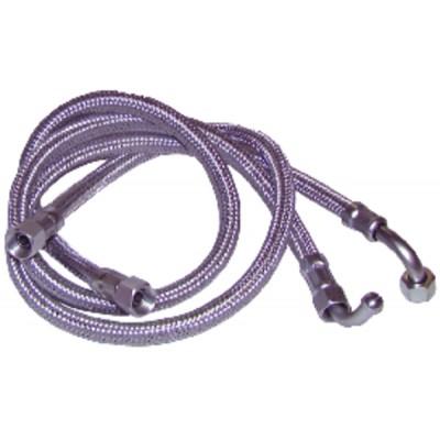Flessibile gasolio F14/150 x F14/150 a gomito 90° (X 2) - CUENOD : 74891