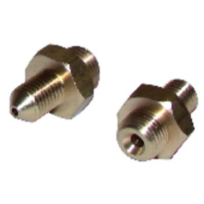 Mamelón de unión M1/8'' x M8/100 (X 2)