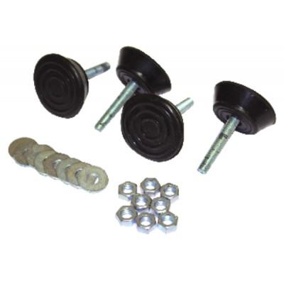 Amortiguador anti vibración carga 45 kg (X 4)
