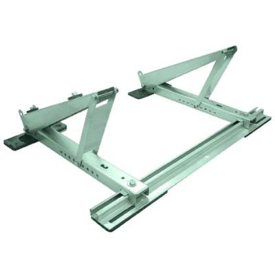 Soporte de techo acero zincado 5-30° 100kg