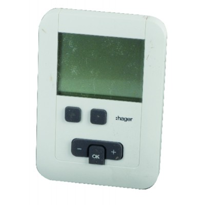 Programmable thermostat hager ek570 batteries lr6 - HAGER : EK570