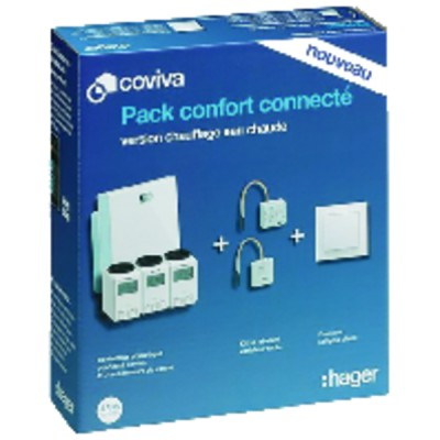 Heating kit COVIVA  - HAGER : PACKCOVIVAEC