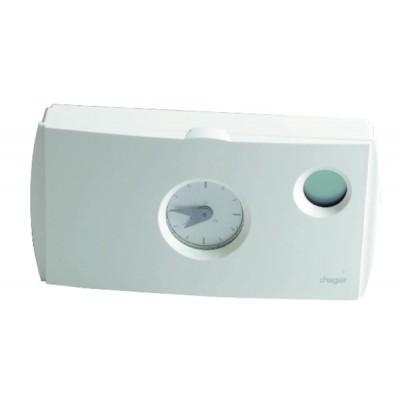 Termostato de ambiente programable suministro 230V - HAGER : 56512