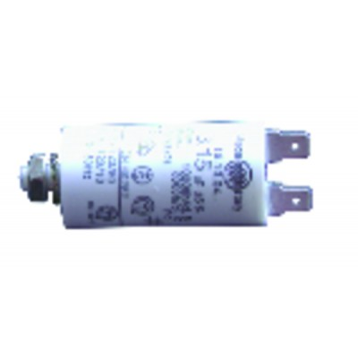 Permanent condensator 2 µf ø30 xlg 59 x overall 84 - JOANNES : 203302