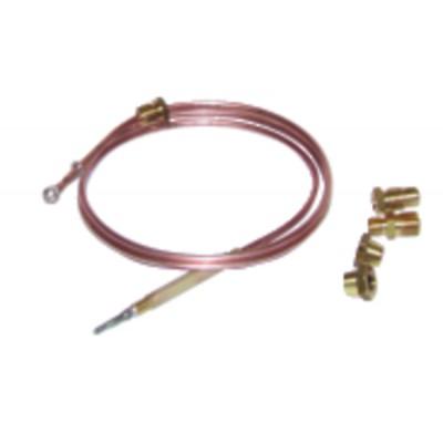"""Thermoelement Thermoelement 4 Anschlüsse Lg. 900mm (M8 - M10 - 11/32"""" - F6 - Druckbelastung)"""