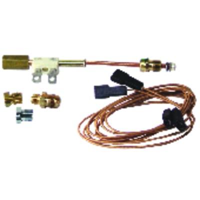 "Thermoelement Unterbrecheranschluss universales Thermoelement (Anschluss M8 - M9 - M10 - 11/32"") + Kabel 1m"