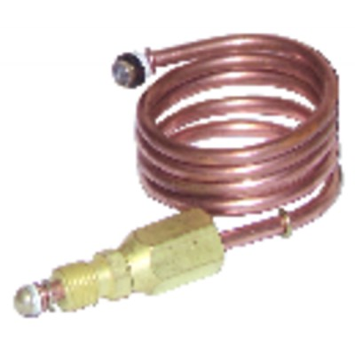 Thermocouple extension (lgth 600mm -fitting M9 x F9)
