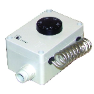 Waterproof room thermostat type ts 9501/01