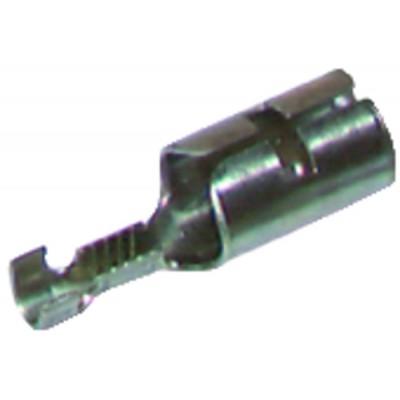 Cosse HT à sertir Ø6.35  (X 12)