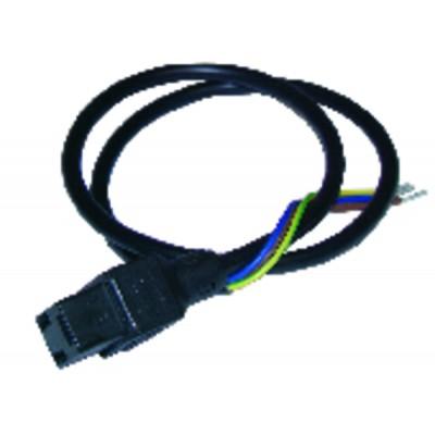 Conector de electroválvula