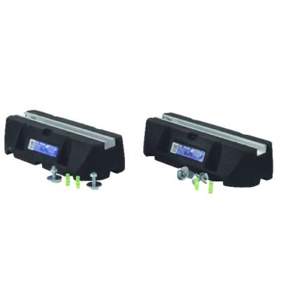 Paire de support au sol RUBBER PROFIL 21x15mm - IMPERIALE GmbH : XS600