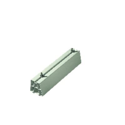 Soporte suelo plástico blco 450x80x80 +4 tornillos (X 2)
