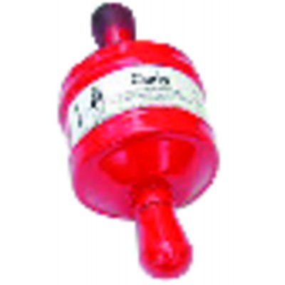 Single-block compact filter drier