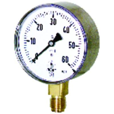 Druckmesser Inspektionsdruckmesser von 0 bis 60 mbar