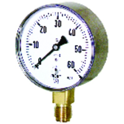 Manometro gas di verifica 0-60 mbar