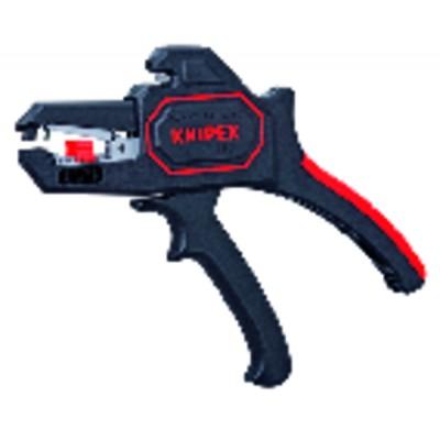 Automatic wire stripper - KNIPEX - WERK : 12 62 180 SB