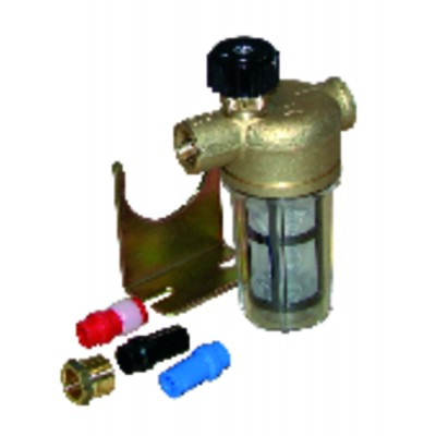 "Filter of fuel pipe with valve ff3/8"" type rv - WATTS INDUSTRIES : 22L0135100"