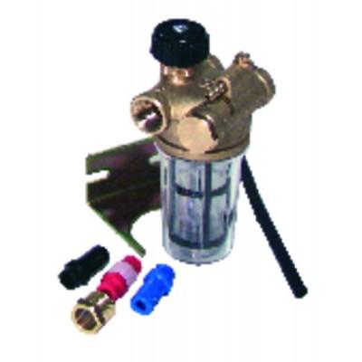 "Filtre fioul recyclage avec robinet FF3/8"" RZ - WATTS INDUSTRIES : 22L0137100"