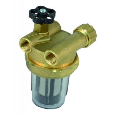 "Filtre fioul recyclage avec robinet FF3/8"""
