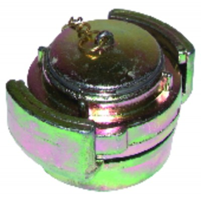 Half coupling supply coupling 2""