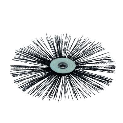 Nylon flat roller brush  Ø 130mm for high temperature
