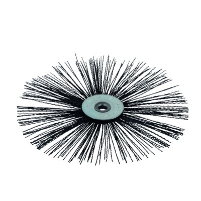Nylon flat roller brush Ø 200mm for high temperature