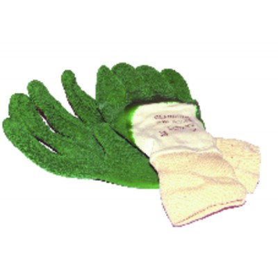 Hygiene product natural latex gloves (size 9 -xl)
