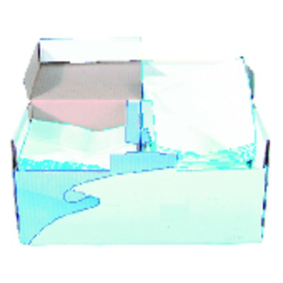 Non woven paper towel  (box of 200 sheets) (X 200)