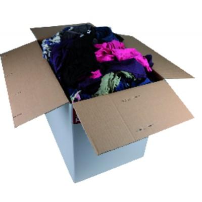Hygiene product textile rags box (10 kg)