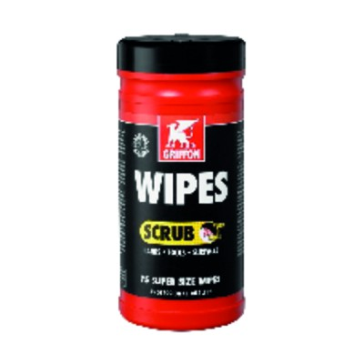 80 cleaning wipes pot BIG WIPES - GRIFFON : 6307282