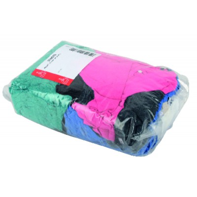 Package of 1kg of textile rags