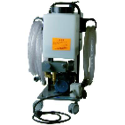 Wasserbehandlung und Analyse Pumpe zum Entschlammen für Fußbodenheizung