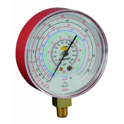 Manometer Ø 80mm High Pressure  - GALAXAIR : 812-E8