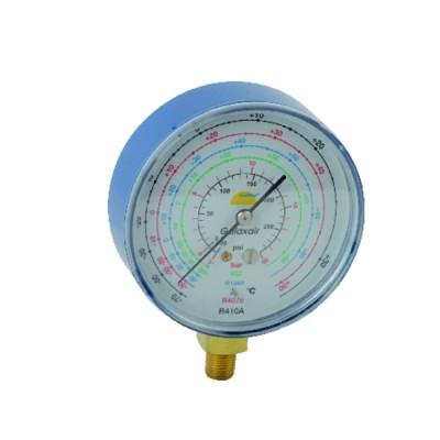 Manometer Ø 80mm BP CLIM (Low Pressure A/C) - GALAXAIR : 811-CLIM