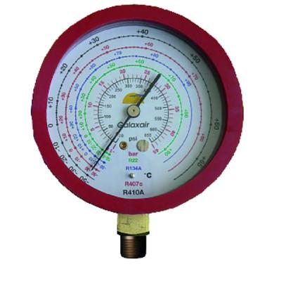 Manometer Ø 80mm HP CLIM (High Pressure A/C) - GALAXAIR : 812-CN