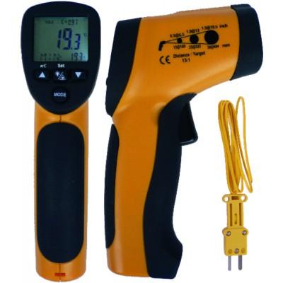 Thermomètre infra-rouge et sonde thermocouple type K - GALAXAIR : TIR-30K