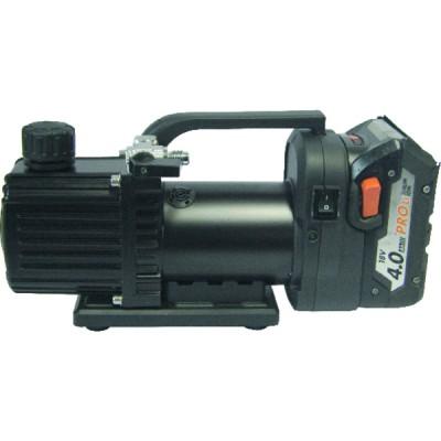 Bomba de vacío 1 nivel 27 l/min con batería - GALAXAIR : 1-VP-27 (18V)