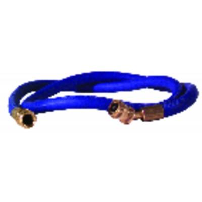 """Caño azul longitud 1,50m Ø1/4"""""""