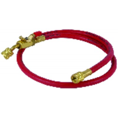 "Red hose pipe ength 0,90m ø 1/4"""