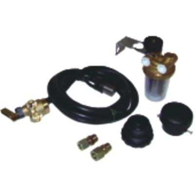 Zisternenzubehör Kombi-Set für Saugung Typ COMBIDIFF für Becken