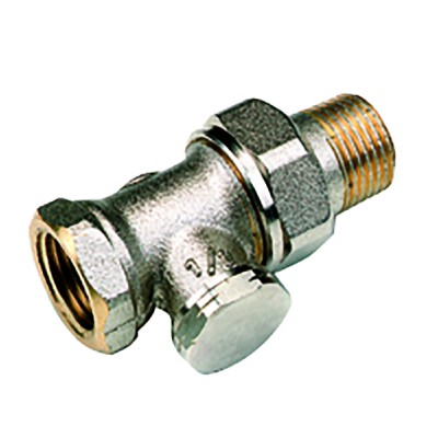 Straight radiator valve F 1/2 - COMAP : 429304
